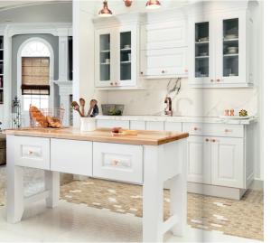 white-kitchen-cabinets-island-Marietta-ga